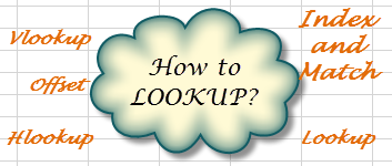 how to use the lookup unction