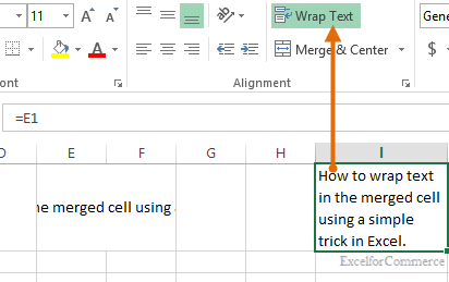 Wrap text not working 3