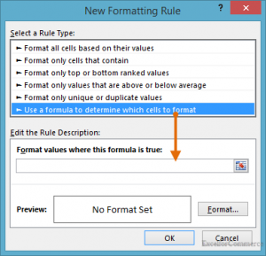 formula conditional formatting in excel 17