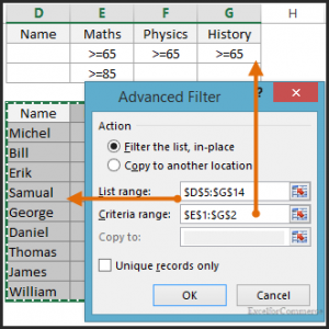 advanced filter in excel 04