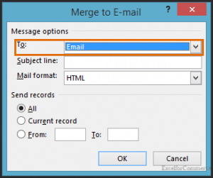 mail merge in excel 6