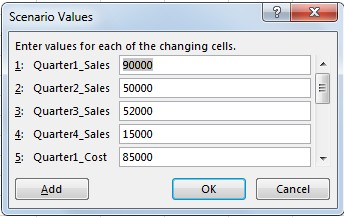 using scenario manager from what-if analysis in excel_9