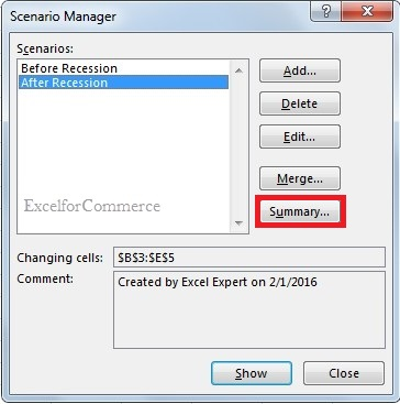 Using scenario manager from what-if analysis in excel_10